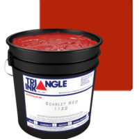 Triangle Ink Scarlet from GDM Graphics
