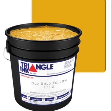 GDM Graphics Triangle Inks Old Gold