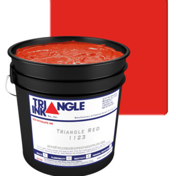 Triangle Ink Triangle Red from GDM Graphics