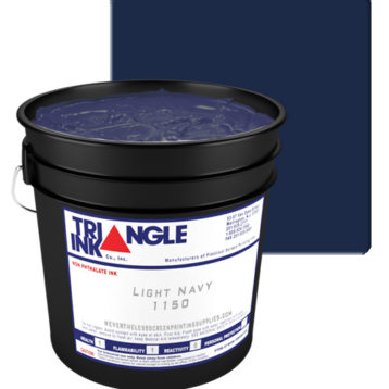 Triangle Ink Light Navy from GDM Graphics