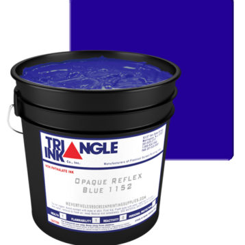 Triangle Ink Opaque Reflex Blue by GDM Graphics