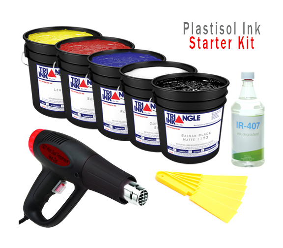 Triangle Plastisol Starter Kit