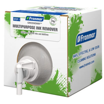 Greeneway Multipurpose Ink Remover available at GDM Graphics