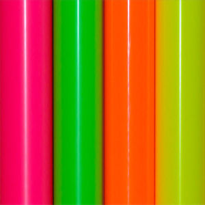 Heat Transfer Vinyl in Neon Colors