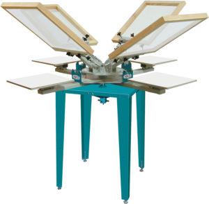 Econo-Tex, Six-Color, Four Station, Floor Model